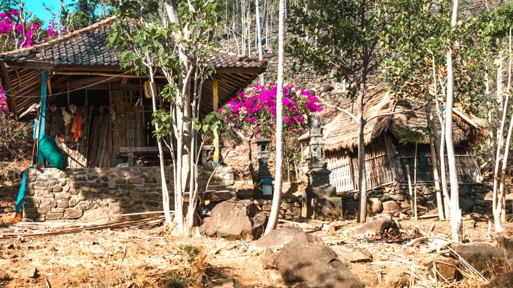 Bali, mountain village, Balinese house,