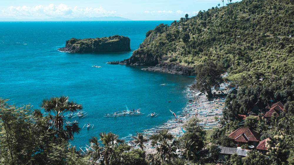 Bali, Indonesia, fishing village,
