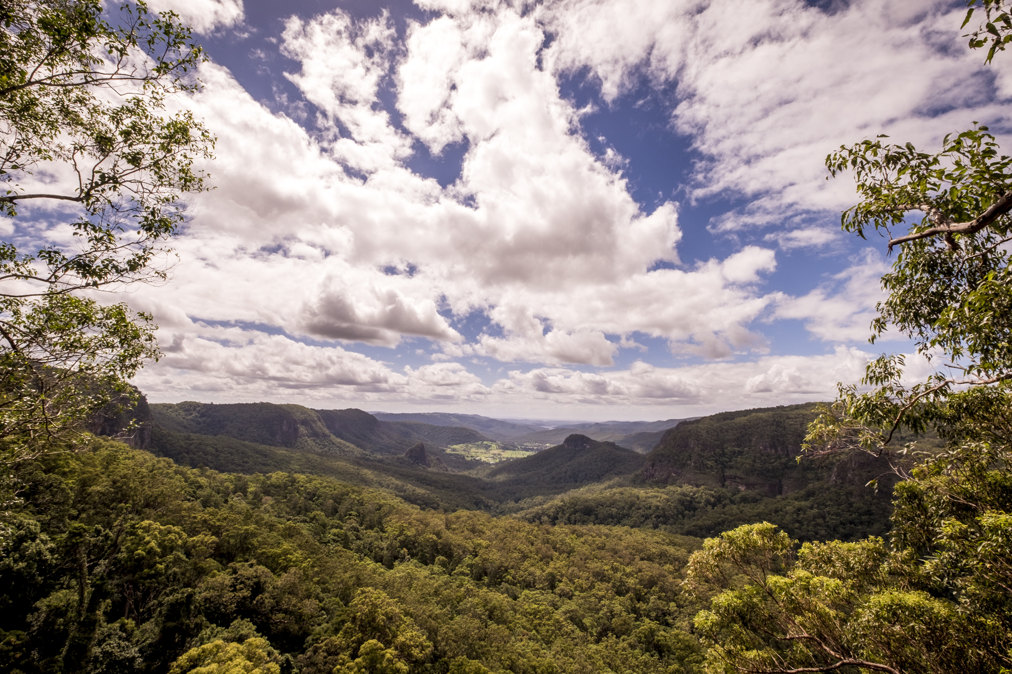 Koolanbilba lookout, binna burra, gold coast,