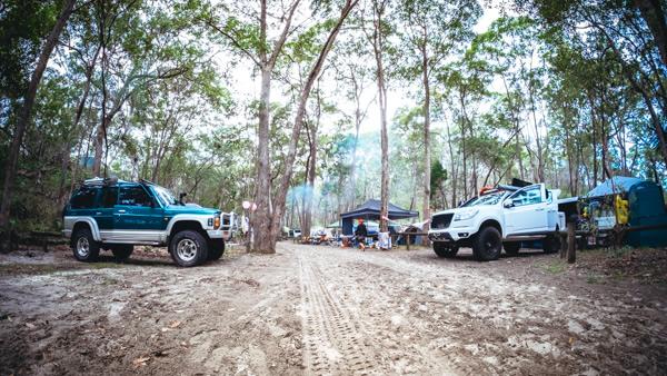 Ben-Ewa camping area, Moreton Island