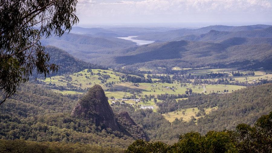 Egg Rock, Binna Burra, Lamington National Park, Gold Coast,