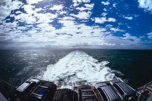 Ferry, Moreton Island, Brisbane, Queenslan