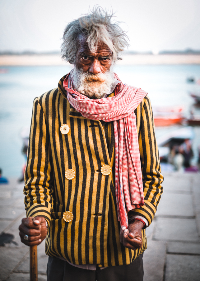 Free-Life-man-river-ganges-Varanasi-India-nathan-brayshaw