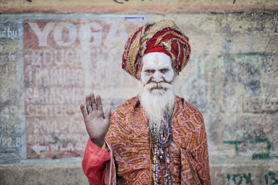 Sadhu-babba-holy-man-varanasi-India