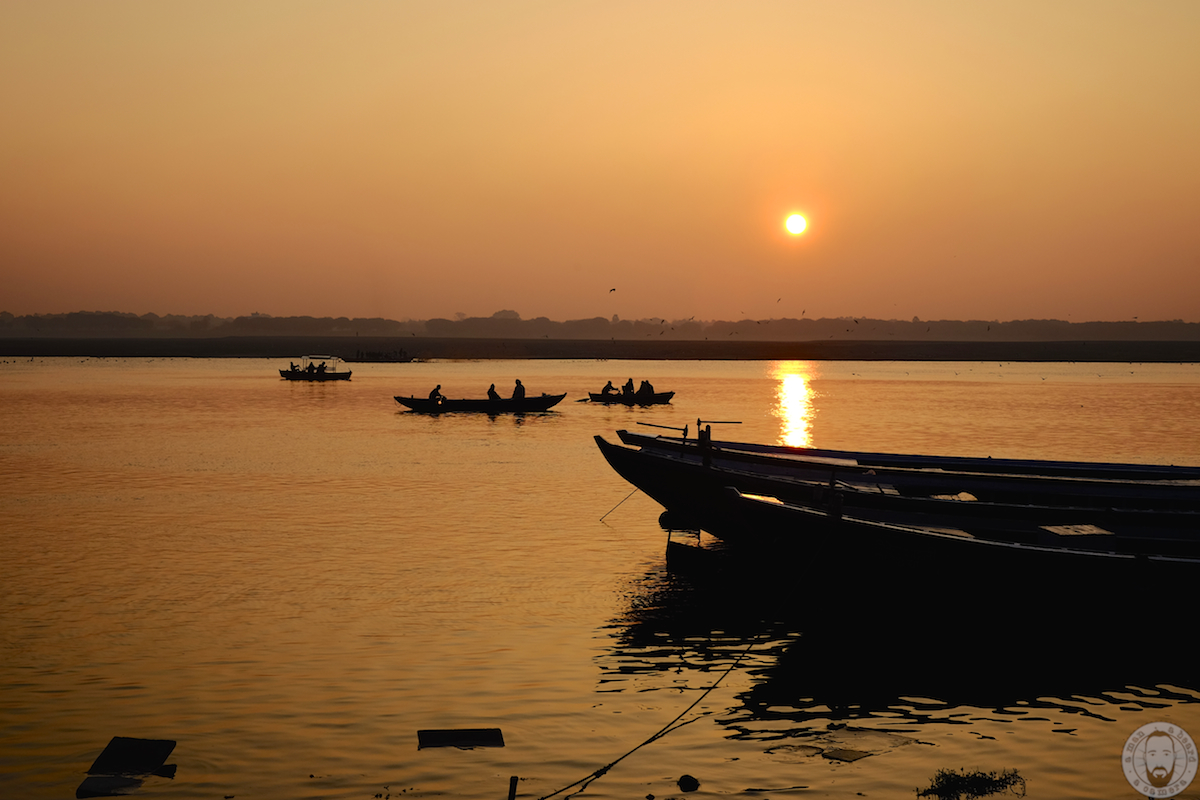 Varanasi, sunrise, Ganges, India