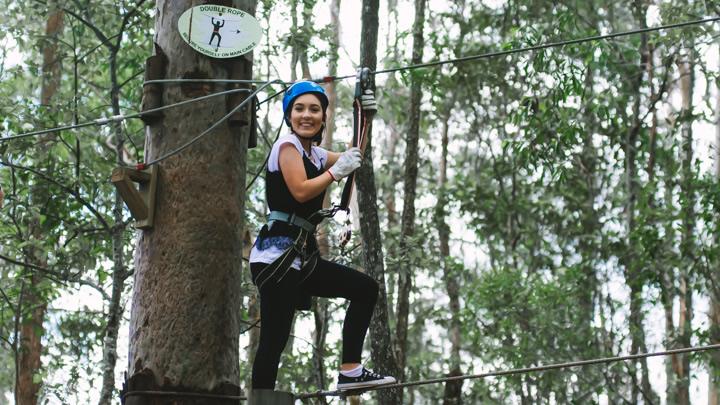 Mount Tamborine, TreeTop Challenge, Gold Coast, school holidays,